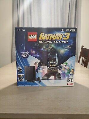 BRAND NEW! Sony Playstation 3 Super Slim PS3 500GB Black Console Lego Batman