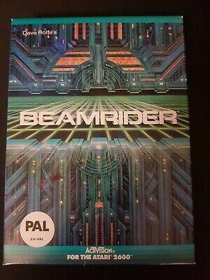 Beamrider Atari 2600 Rare and near Mint PAL