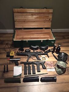 Paintball gear package