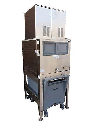 Commercial Ice Flaker - ICS/Follett Compressed Ice Maker (260 Kg/24 Hrs) + Bin