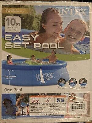 Intex 10ft X 30in Easy Set Above Ground Pool FREE SHIP