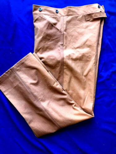 US Army M1885 Brown Canvas Trousers size 36