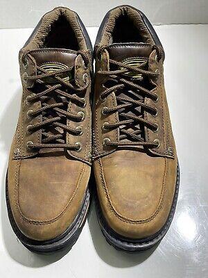 Skechers Men's Mariner Utility Boot Brown - Size 12