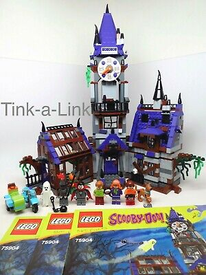 Lego 75904 Scooby-Doo Mystery Mansion Set EC 100% Complete with Manuals