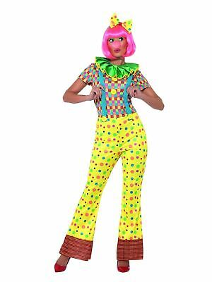 Clown Lady Womens Costume Circus Ladies Fancy Dress Outfit Dressup Ringmaster](Circus Ringmaster Outfit)