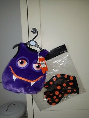 TU Baby Halloween Spider Dressing Up Costume Age 6-9 Months New with tags RRP£11