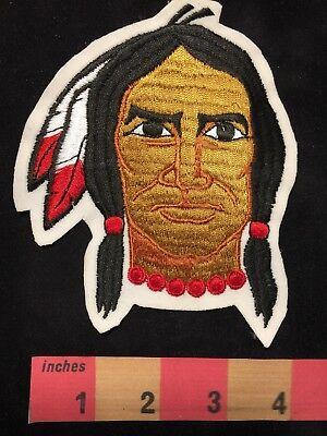 Gorgeous Embroidered NATIVE AMERICAN INDIAN Patch 00X3