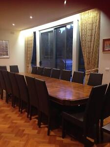 Huge Dining Room Table in excellent condition Caulfield North Glen Eira Area Preview
