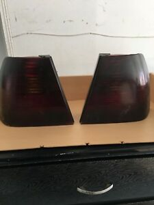 Blacked out tailights mk4 jetta