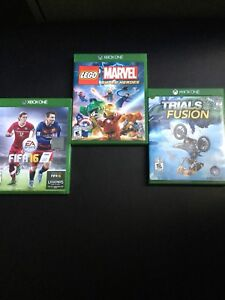 3 jeux Xbox One pour 30$