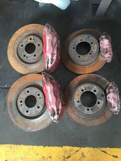 Mitsubishi Lancer EVO 8 BREMBO brake package