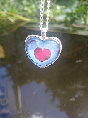 Legend of Zelda Full Heart Piece Necklace Chain Pendant Cosplay