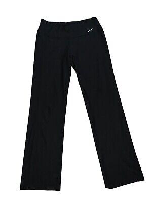Black Nike Ladies Yoga Pants Dri-Fit Medium Worn Once