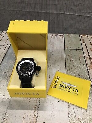 Invicta Russian Diver Black Mechanical Watch