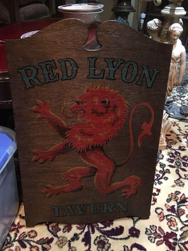 RED LYON TAVERN BY YORCRAFT.INC 1962