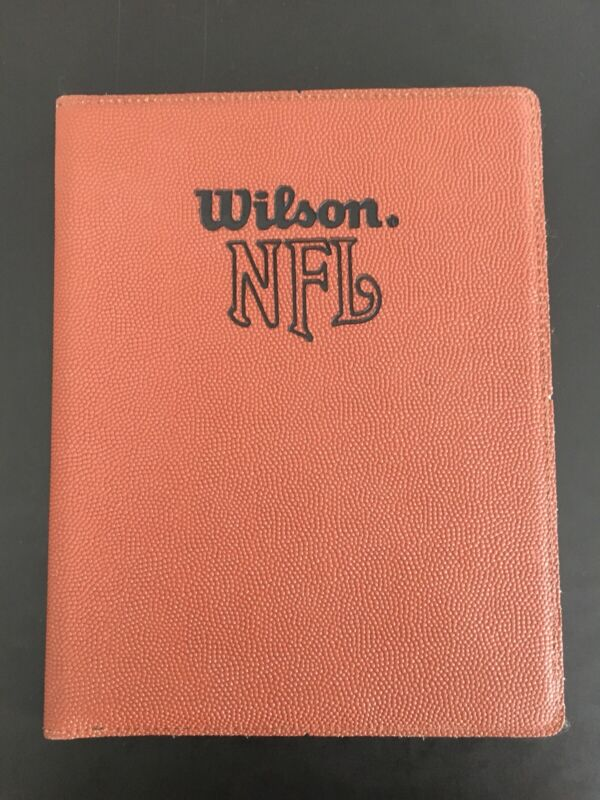 NFL Wilson Leather Paper Pad Holder
