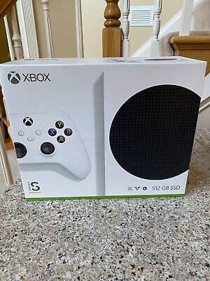 Microsoft Xbox Series S 512GB Video Game Console - White In Hand SHIPS TODAY
