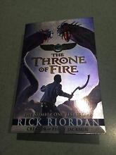 The Throne of Fire by Rick Riordan Aberfoyle Park Morphett Vale Area Preview