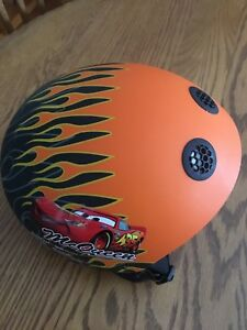 Lightning McQueen bike helmet