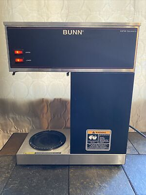 Bunn Vpr Series Commercial Coffee Makerbrewermachine 2 Warmer With Carafes