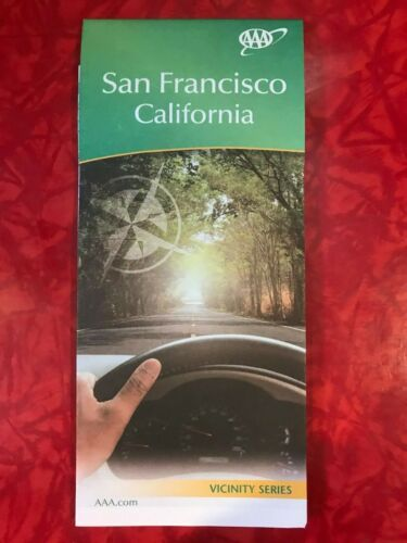 SAN FRANCISCO VICINITY SERIES AAA MAP published 2017