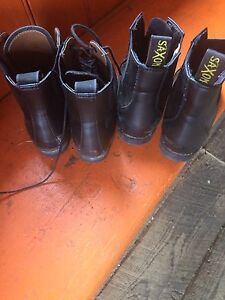Two pair childs size 13 Riding boots