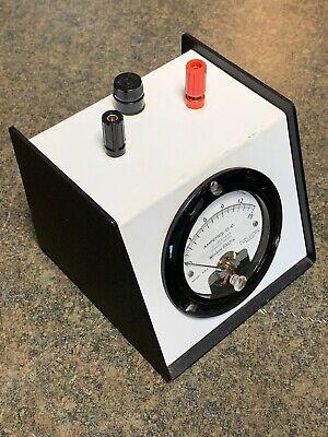 Vintage Western Electric Dc Amperes Test Meter 0-15 Amp Ks-14507-l24 Amp Meter