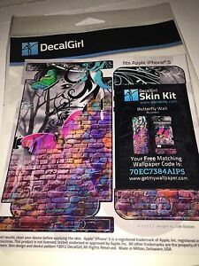 DecalGirl Skin Kit for iPhone 5 / Butterfly Wall by Juleez FREE SHIPPING