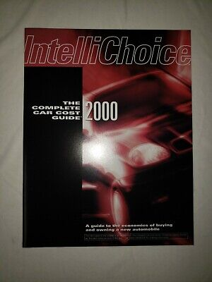 Complete Car Cost Guide 2000 by Intellichoice feat. Saturn covid 19 (Complete Car Cost Guide coronavirus)