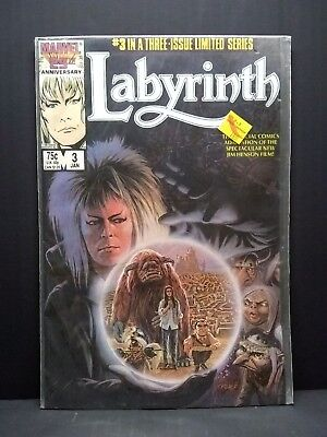 Marvel David Bowie Labyrinth #3 Of 3 Limited Mini Series Jim Henson for sale  Capron