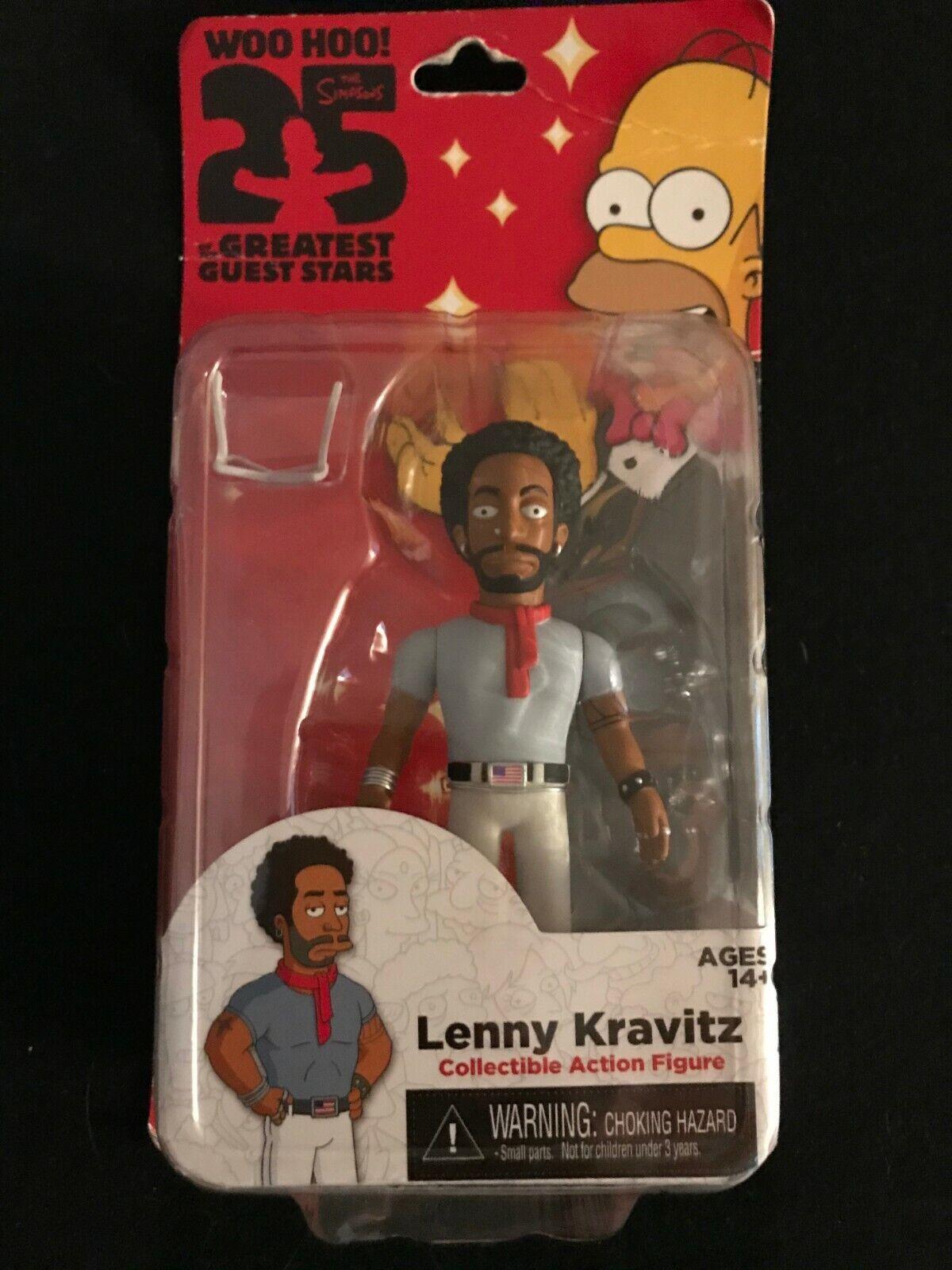 Neca The Simpsons 25th Anniversary Series 5 Lenny Kravitz 5 Action Figure - $5.99