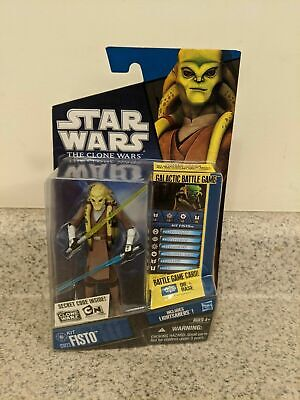 STAR WARS CLONE WARS KIT FISTO CW23 SEALED