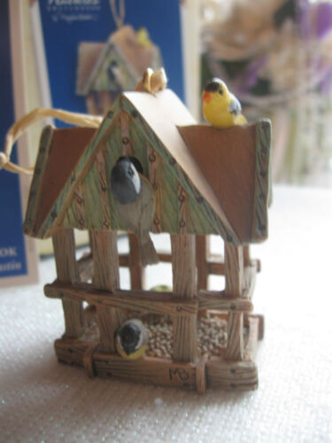 Hlmk Marjolein Bastin Natures Sketchbook Chickadee Goldfinch Birdfeeder Ornament