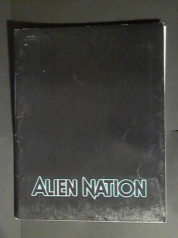 "Original 1988 Press Kit  Alien Nation  11 1/2"" x 9""  With Photos"