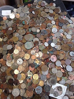 Old Less Than Perfect Coin Lot   3 Pounds   Coins Tokens   Treasure Hunt    621
