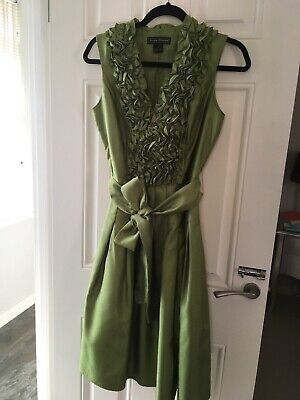 Women's Green Jessica Howard Party Dress, Size 10. Barely Worn.