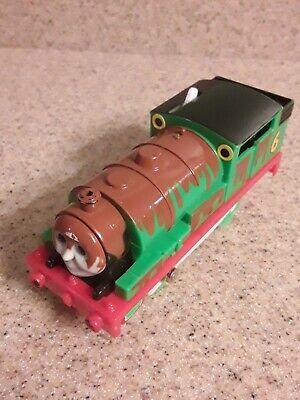 Trackmaster Thomas & Friends PERCY'S CHOCOLATE CRUNCH 2006 Motorized Train WORKS