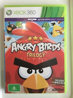 XBOX 360 Angry Birds Game