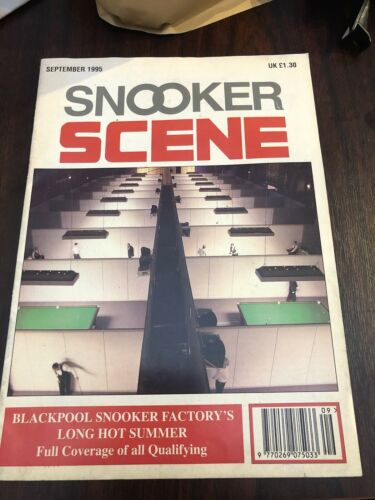 Snooker Scene magazine September 1995