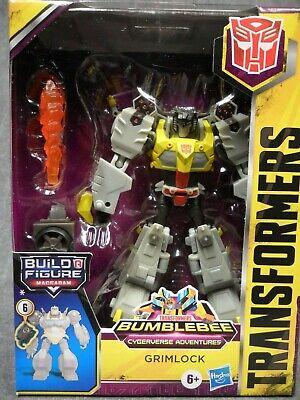 Transformers NEW * Grimlock * Deluxe Cyberverse Adventures Bumblebee Wave 2