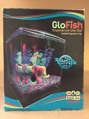 Tetra Care GloFish Aquarium Kit 1.5-Gallon #29236 - NEW