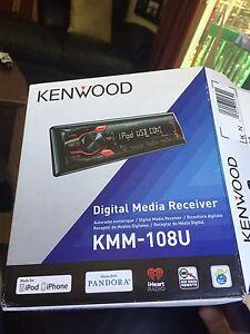 Brand new never used kenwood stereo