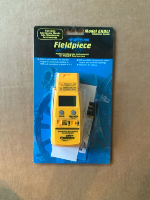 New Fieldpiece EHDL1 Electronic Accessory Head Handle