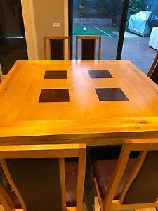 Dining table 1500 x 1500 seats 8 Carnegie Glen Eira Area Preview