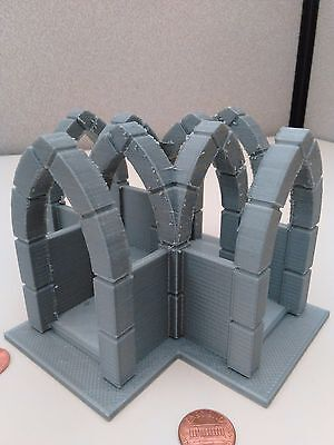 3d Printed Wargame Terrain&Scenery 28mm Gothic Shrine-Warhammer40k,Bolt Action