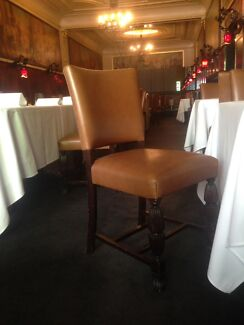 Restaurant Chairs Leather Hotel Function Dining Room  Middle Park Port Phillip Preview