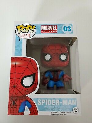Funko Pop! Marvel - Marvel Universe - Spider-Man #03