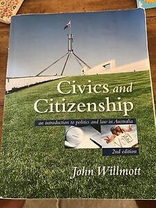 Civics and Citizenship John Willmott Coogee Cockburn Area Preview