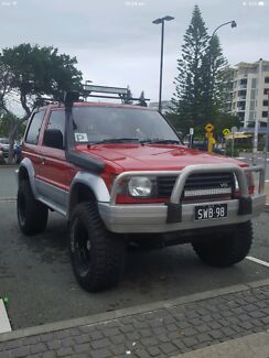 Lifted swb Pajero