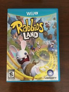 Rabbids Land game for Wii U